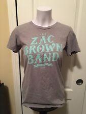 Zac Brown Band Womens Cut Shirt Size Large Eric Church Alan Jackson Jason Aldean