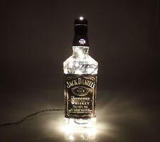 Jack Daniels - Flaschen Lampe mit 80 LEDs 220V Warm- UND Kalt-Weiß UMSCHALTBAR