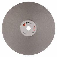 """6"""" inch Grit 180 Diamond Grinding Disc Coated Flat Lap Disk Wheel Lapidary Tools"""