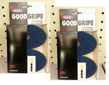 2 packs OXO GOOD GRIPS SOAP SQUIRTING DISH SCRUB REFILLS