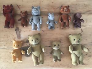 SUPERBE LOT 10 FIGURINES PETITS MALINS / SYLVANIANS (MAPLE TOWN STORY)