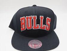 Chicago Bulls Black OG Jordan 1 Mitchell & Ness NBA Retro Snapback Hat Cap