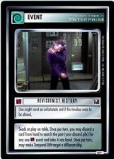 Star Trek CCG Enterprise Collection Revisionist History FOIL 42P