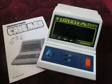 GRANDSTAND TOMY CAVEMAN ELECTRONIC GAME -WITH INSTRUCTIONS. 1980'S Fully Working
