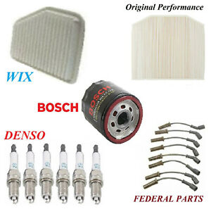 Tune Up Kit Air Cabin Oil Filters Spark Plugs For PONTIAC G8 V8; 6.0L 2008-2009