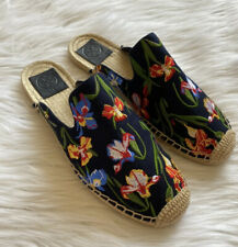 Tory Burch Max embroidered espadrilles Size 8