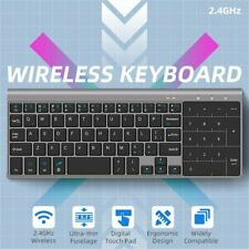59 Keys Thin Wireless Keyboard with Touchpad For Android Windows PC Tablet PC