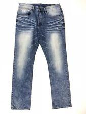 Buffalo David Bitton Ash X Basic Skinny Stretch Whiskered Jean Men Size 34x32