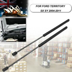 2Pcs Bonnet Gas Shock Struts Lift Support For Ford Territory SX SY 2004-2011