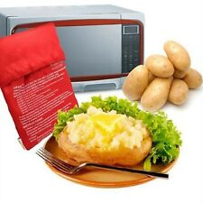 Potato Express Microwave Baked Potato Cooking Cooker Washable Bag NEW