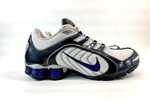Nike Shox Navina  Blue White And Black 356918-150 Women's Running Shoe Size 11