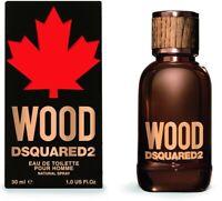 Dsquared2 WOOD for him men eau de toilette pour homme 30 ml 1 oz new sealed