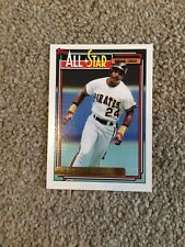 +++ Barry Bonds 1992 Tarjeta de béisbol Topps Gold #390 - Piratas Pittsburgh +++