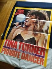 Tina Turner Poster 1985 Private Dancer Concert Hbo Rock R&B PopAuthentic Rare