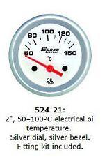 Speco 2'' ( 50mm ) 50-150 Deg Electrical Oil Temp Gauge P/N 524-21