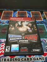 WWE SmackDown vs. Raw 2010 Featuring ECW (Sony PlayStation 2, 2009) Complete