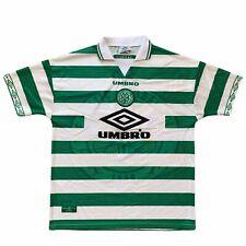 1997 99 Celtic Home Football Shirt - Xl Classic 90s Vintage
