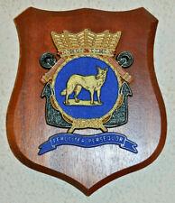 Hr Ms Wolf plaque shield crest Dutch Navy gedenkplaat HNLMS