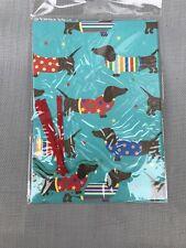 Dachshund  Gift Wrap Sausage Dog Weiner Free Postage
