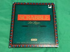 SCRABBLE DE LUXE deluxe board game With Electronic Timer by spears turntable59.9