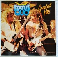 "STATUS QUO⚠️Unplayed⚠️  1982-12"" Vinyl-Greatest Hits-LP- SSD 8035 UK"