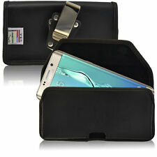 New Galaxy S6 Edge Plus Belt Case Turtleback Leather Holster Pouch Belt Clip