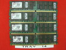 16GB - Kingston 4x KTM2865/8G Server RAM 4GB DDR2-400MHz Tray 14