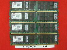 16GB - Kingston 4x KTM2865/8G SERVER RAM 4GB DDR2-400MHZ  TRAY 14