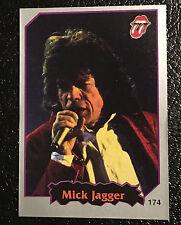 Mick Jagger 1997 Argentina International Rock Cards Sticker The Rolling Stones