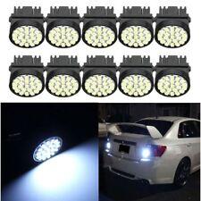 10pcs Cool White T25 3157 1206 22SMD Led Exterior Lights Lamp Car Side Make Bulb