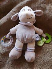 Doudou mouton d'activité Mots d'enfants