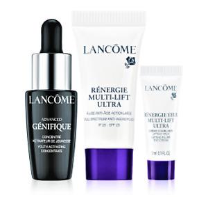 Lancôme Skin Care Routine Genifique Serum Gesichtspflegeset 3-teilig 15 ml NEU