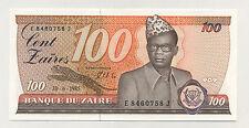 Zaire 100 Zaires 30-6-1985 Pick 29.b UNC Banknote Uncirculated