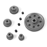 11184 Steel Metal Spur Diff Differential Main Gear 64T Motor Pinion Gears RC1206