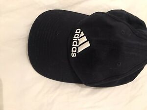 ADIDAS HAT NAVY & WHITE