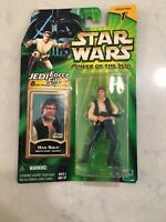 Hasbro Star Wars Power Of The Jedi Death Star Esacape Han Solo Action Figure