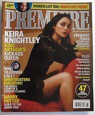 KEIRA KNIGHTLEY  June 2004 PREMIERE Magazine NEW Johnny Depp HARRY POTTER +++