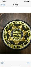 Montgomery County Sheriff Tennessee Patch