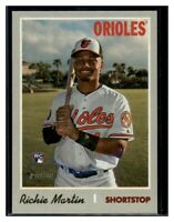 2019 Topps Heritage High Number Flip Stock #532 Richie Martin Baltimore Orioles