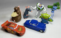 Disney Pixar x7 Mini Figure Toy Set Bundle Cars Toy Story Ants Ratatouille