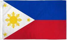 """PHILIPPINES 3X5' FLAG NEW 3'X5' 3 X 5 FEET 36X60"""" BIG"""