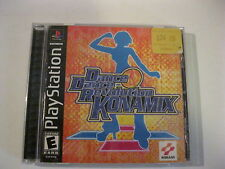 Dance Dance Revolution Konamix Playstation 1 game complete