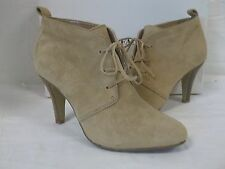 Alfani Size 6.5 M Carlina Cashew Leather Ankle Booties New Womens Shoes