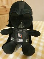 Disney Plush Darth Vader Star Wars Soft Tot Teddy Collectible 11""