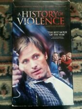 A History Of Violence VHS 🔥🔥 RARE 💀💀 Promo LAST VHS EVER 🔥🔥Thriller OOP 💯