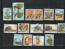 BOTSWANA  STAMPS USED  LOT 19679