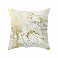 Marble Pattern Throw Pillowcase Sofa Cushion Pillow Cover Home Decor Gift45x45cm