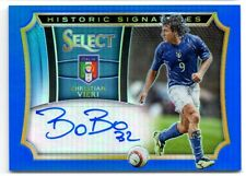2015 Panini Select Soccer Blue Auto Autograph CHRISTIAN VIERI Italy 58/99