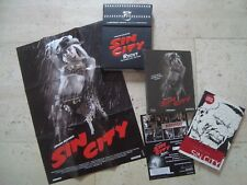 SIN CITY Blu-Ray Recut+Theatrical  SteelBook Limited BOX with book, poster