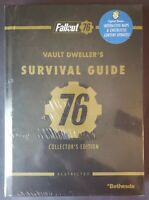 FALLOUT 76 COLLECTOR'S EDITION STRATEGY GUIDE ~ 2018 PRIMA HARDCOVER ~ SEALED